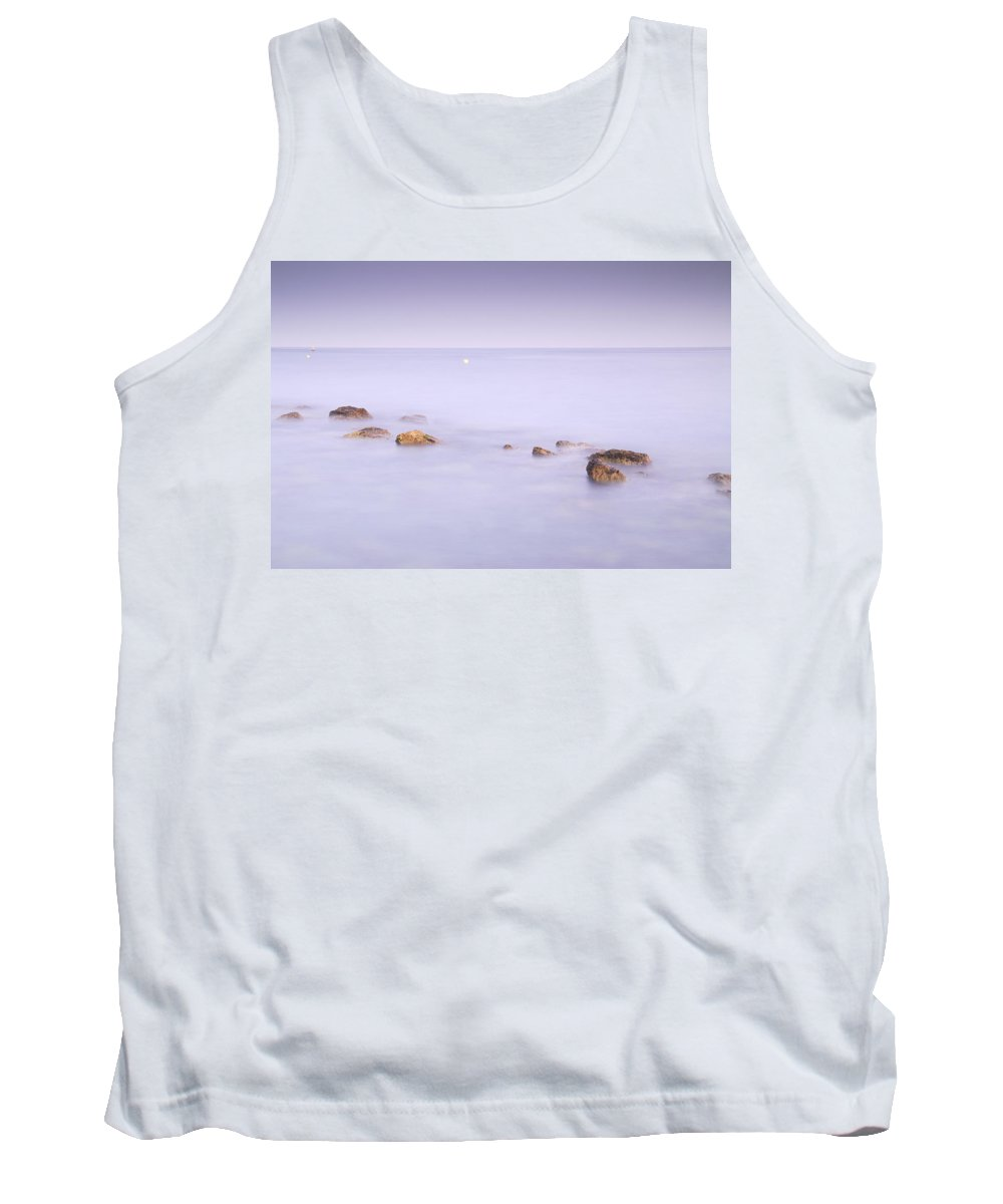 Seascape Tank Top featuring the photograph dreaming between the islands III by Guido Montanes Castillo