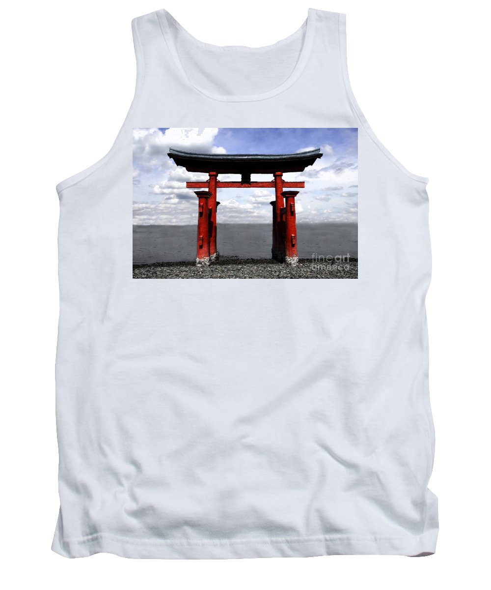Japan Tank Top featuring the photograph Dreaming In Japan by David Lee Thompson