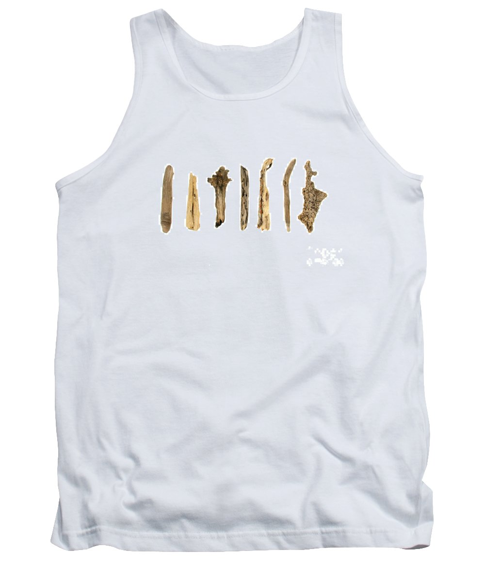 Driftwood Tank Top featuring the photograph Driftwood by Jennifer Booher