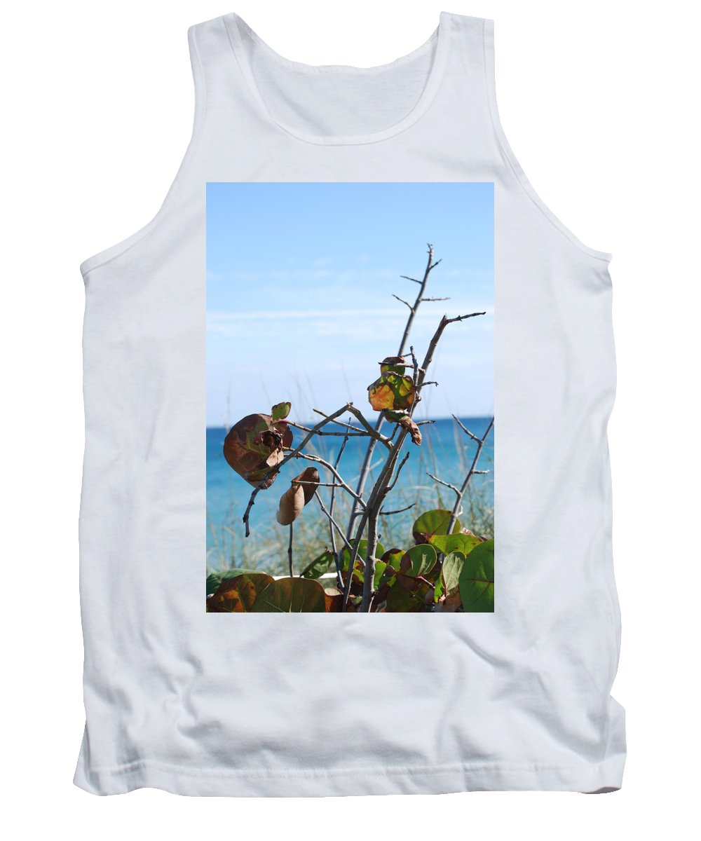 Ocean Tank Top featuring the photograph Dune Plants by Rob Hans