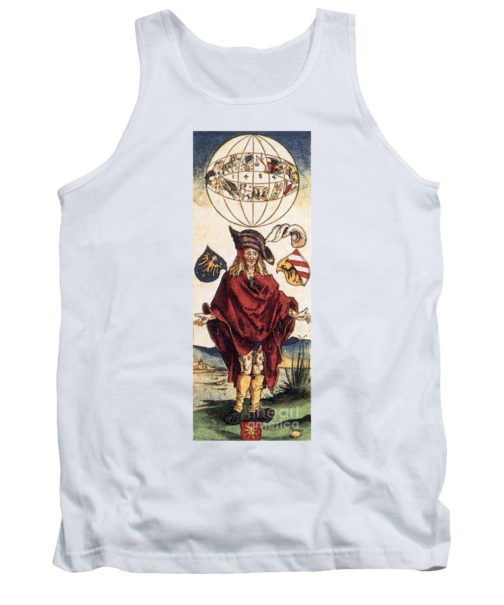 Illustration Tank Top featuring the photograph Durers Syphilitic Man by Science Source
