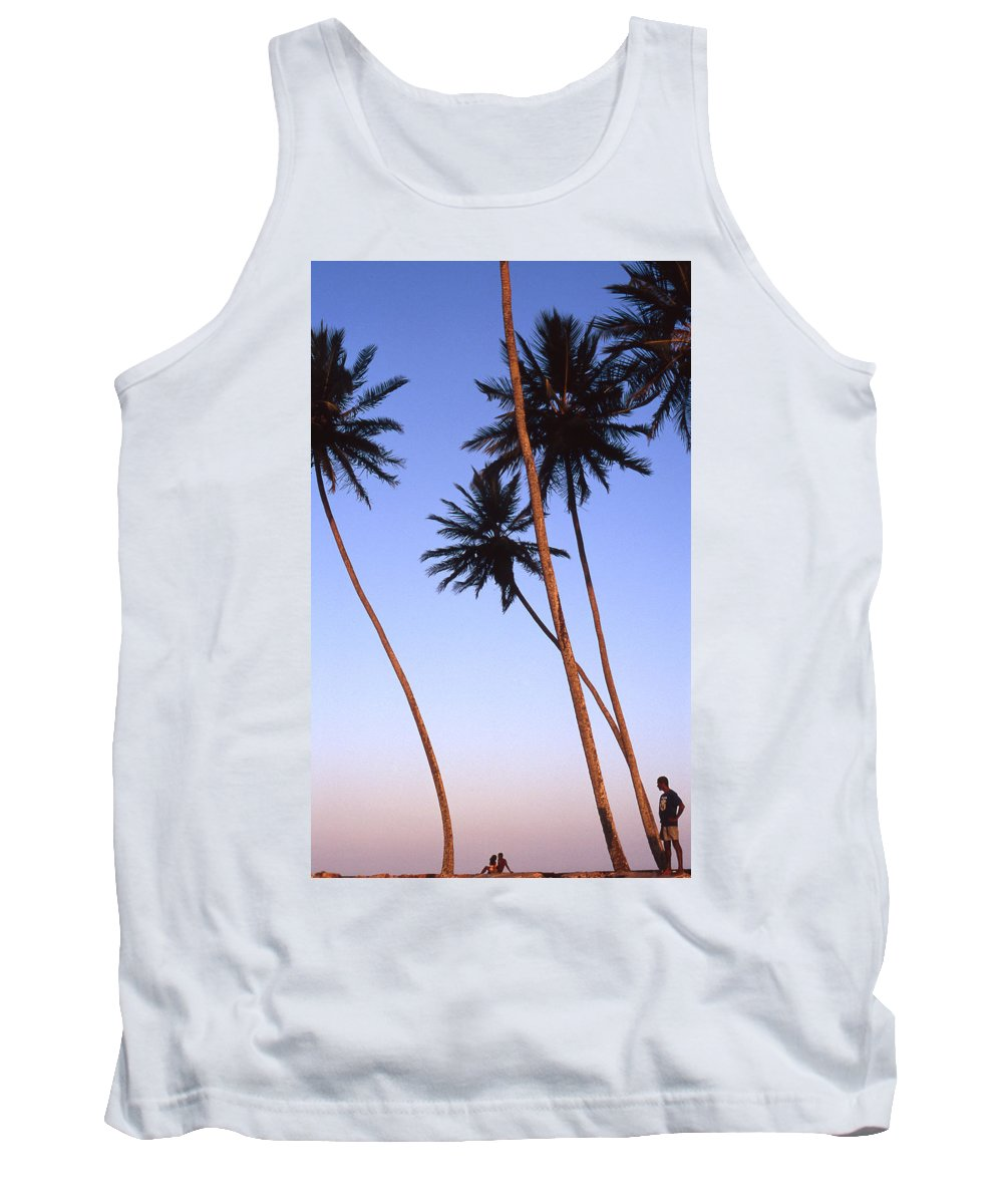 Bahia Tank Top featuring the photograph Dusk In Morro by Patrick Klauss