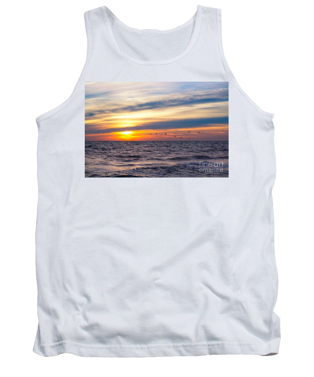 Early Bird Tank Top featuring the photograph Early Bird by Michael Ver Sprill