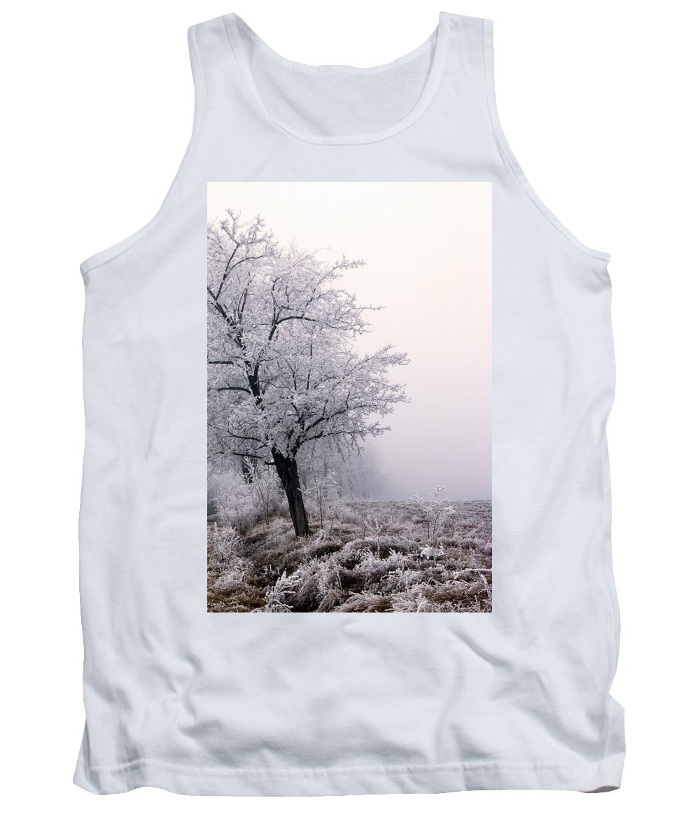 Frost Tank Top featuring the photograph Early Morning Frost by Cliff Norton