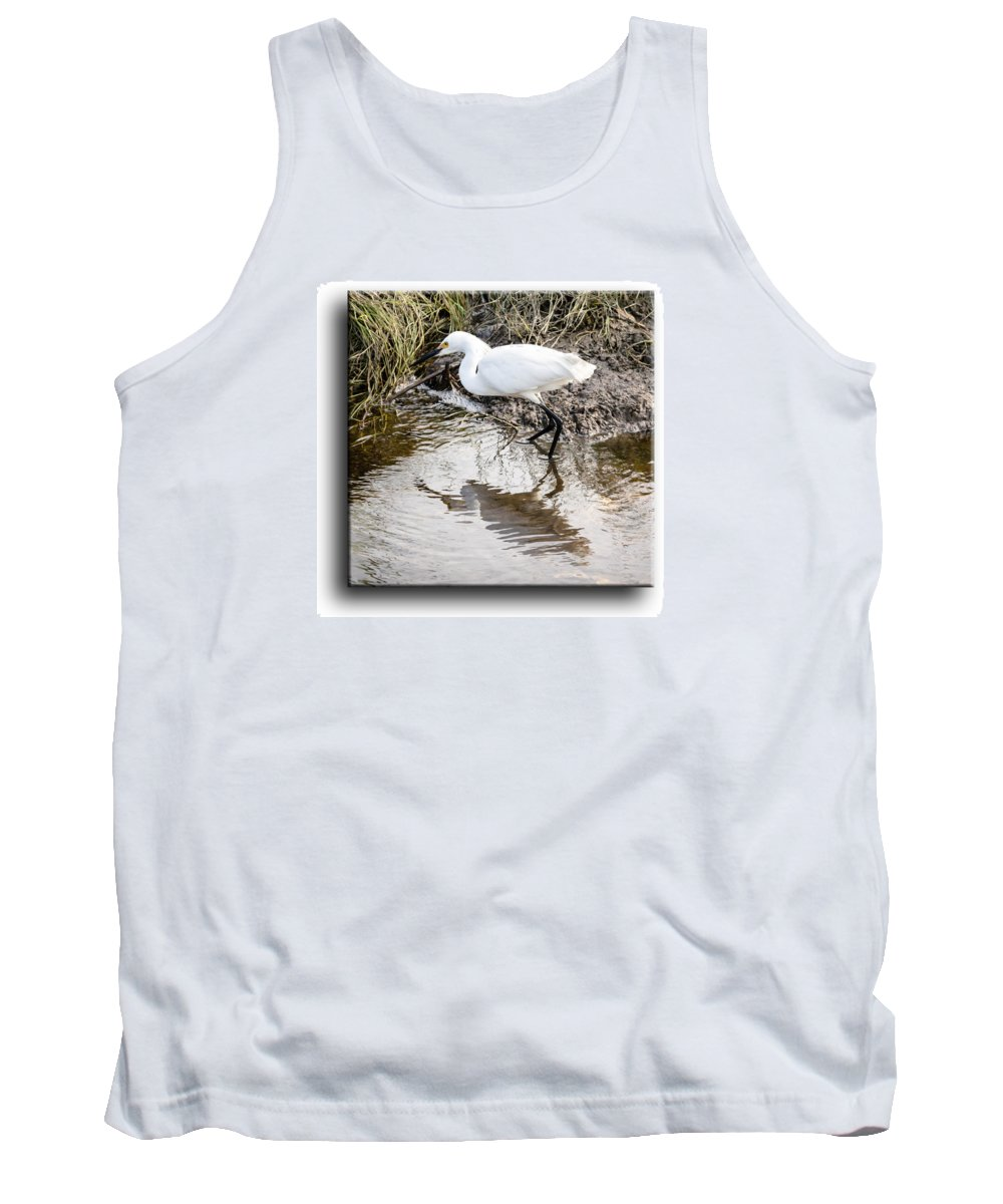 Bird Tank Top featuring the photograph Egret 3 by Leticia Latocki