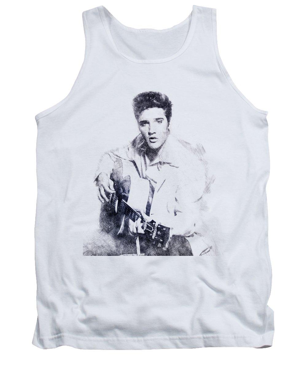 Elvis Presley Tank Tops