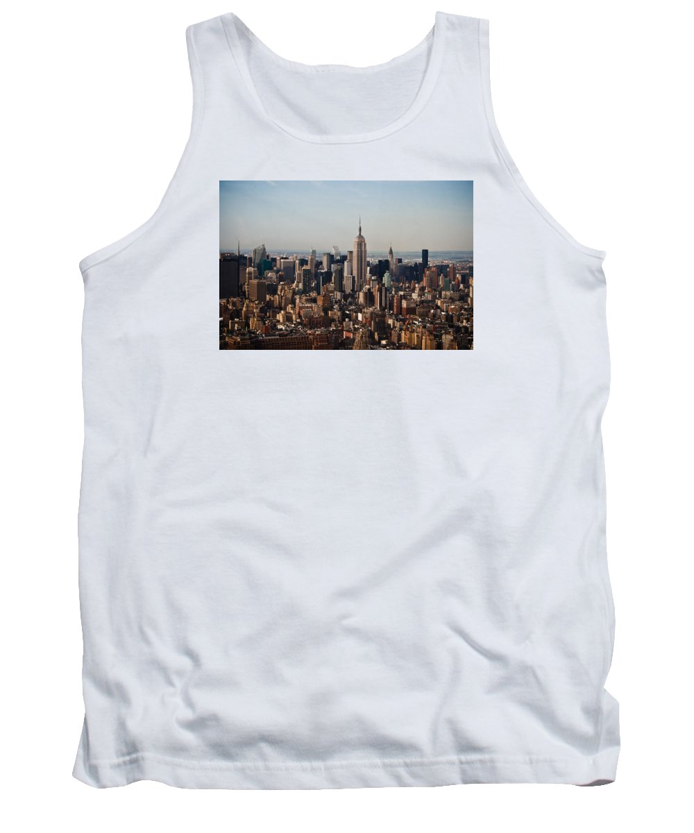Nyc Tank Top featuring the photograph Empire State Of Mind by Robert J Caputo
