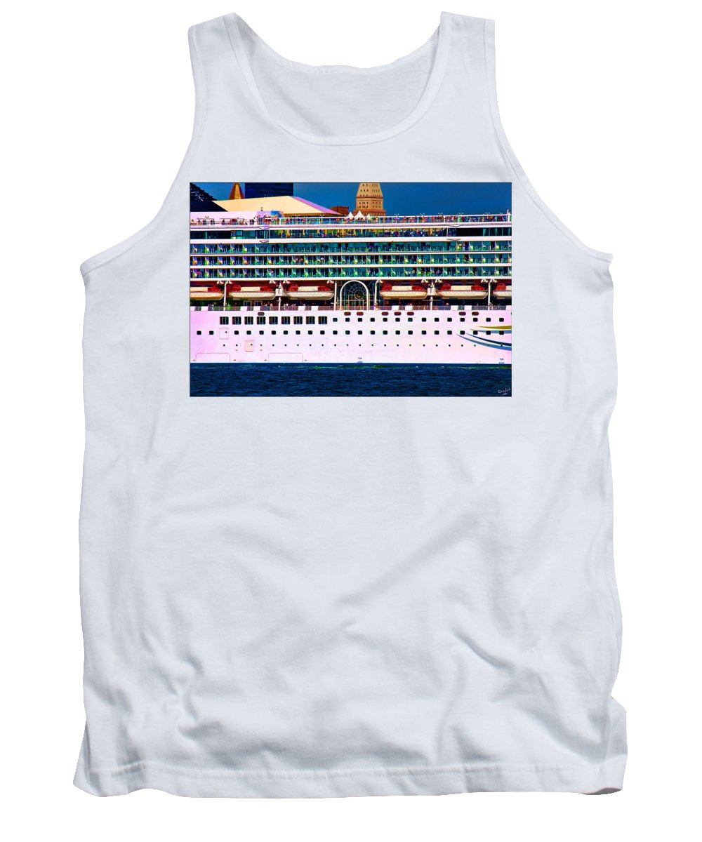 Cruise Tank Top featuring the photograph En Voyage by Chris Lord