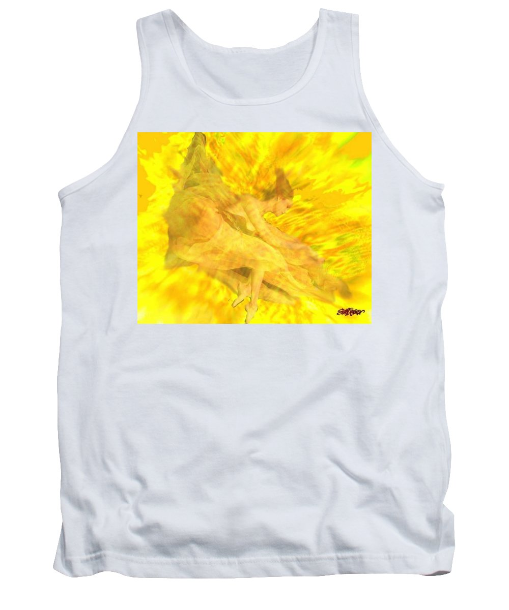 Joy Tank Top featuring the digital art Endless Joy by Seth Weaver