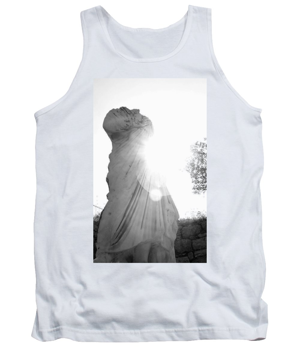Statue Tank Top featuring the photograph Ephesian Statue by Jennifer Kelly