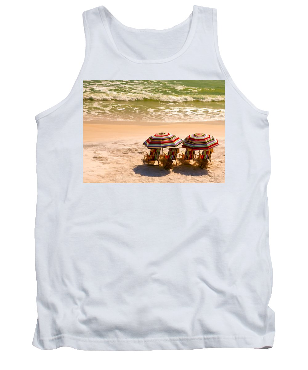 Alys Beach Tank Top featuring the photograph Escape by Janet Fikar