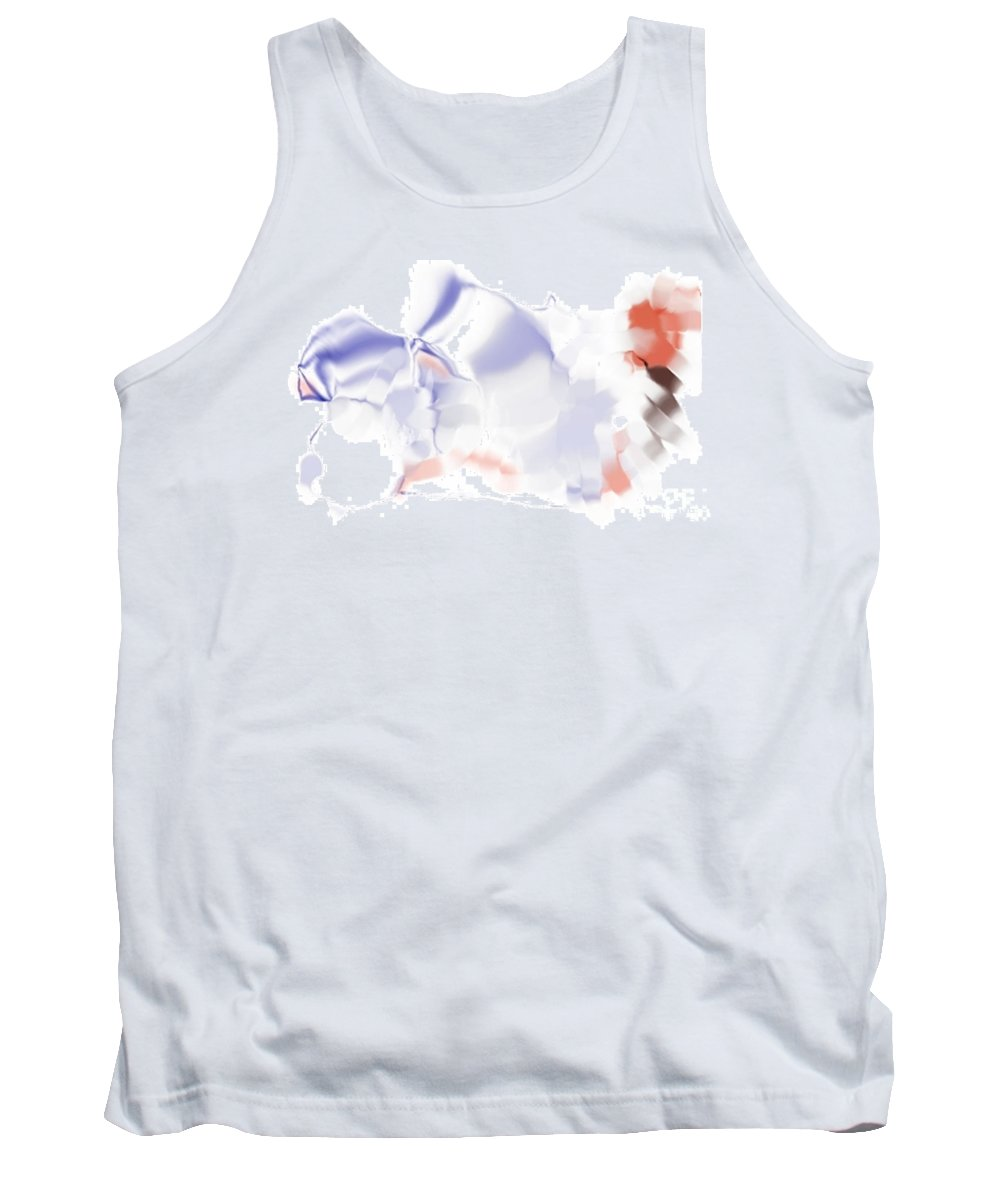 Ethereal Tank Top featuring the digital art Ethereal by Ron Bissett