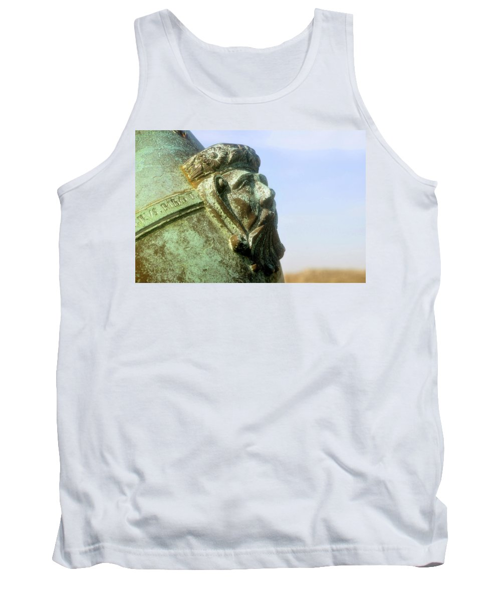 Cannon Tank Top featuring the photograph Face On The Cannon by David Lee Thompson