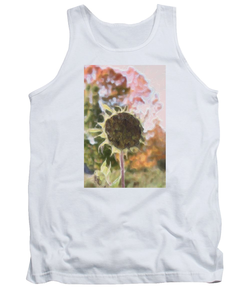 Flower Tank Top featuring the photograph Faded Flower by Modern Art