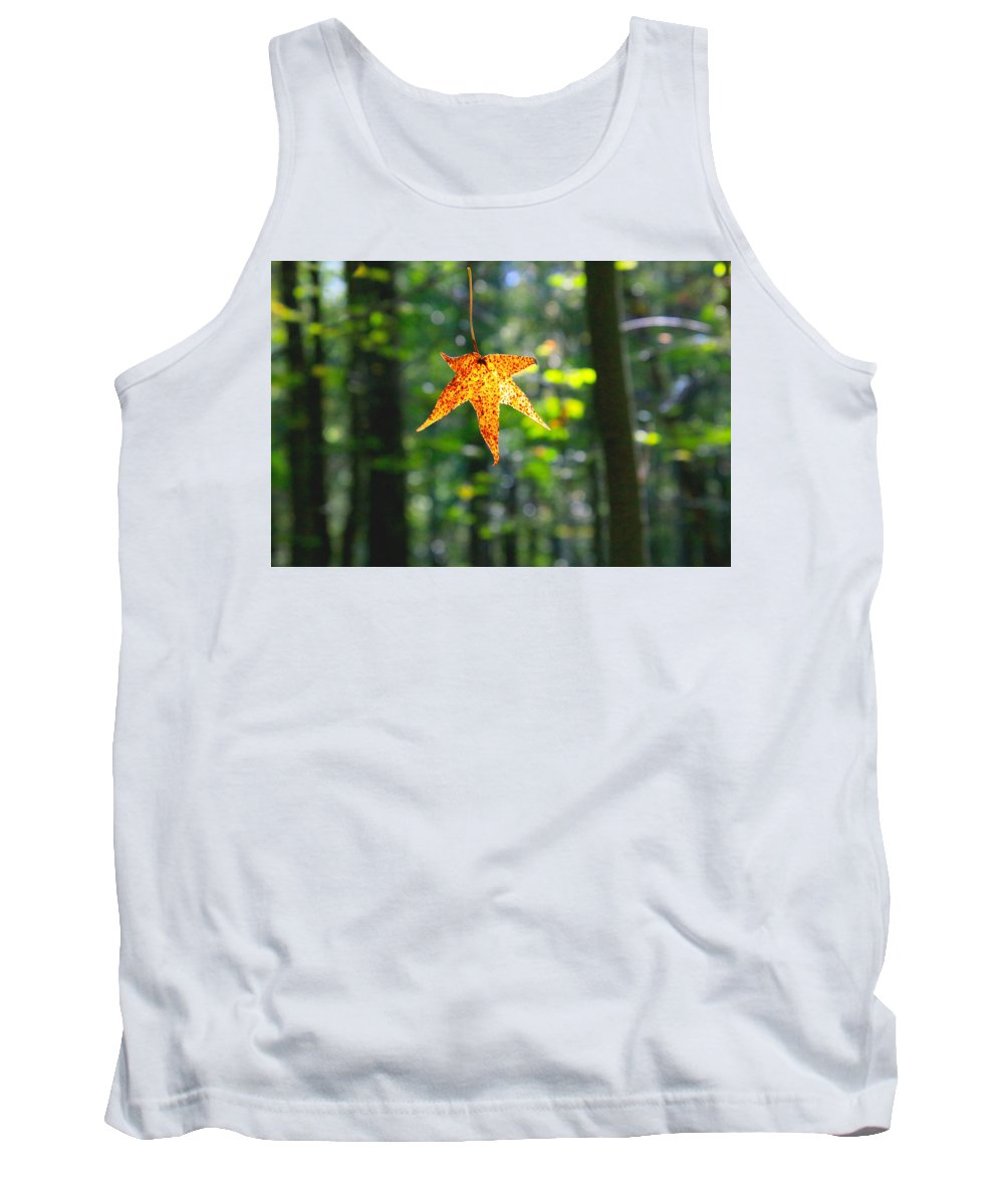 Tank Top featuring the photograph Fall by Tony Umana