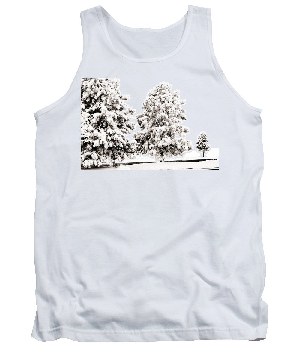 Trees Tank Top featuring the photograph Family Of Trees by Marilyn Hunt