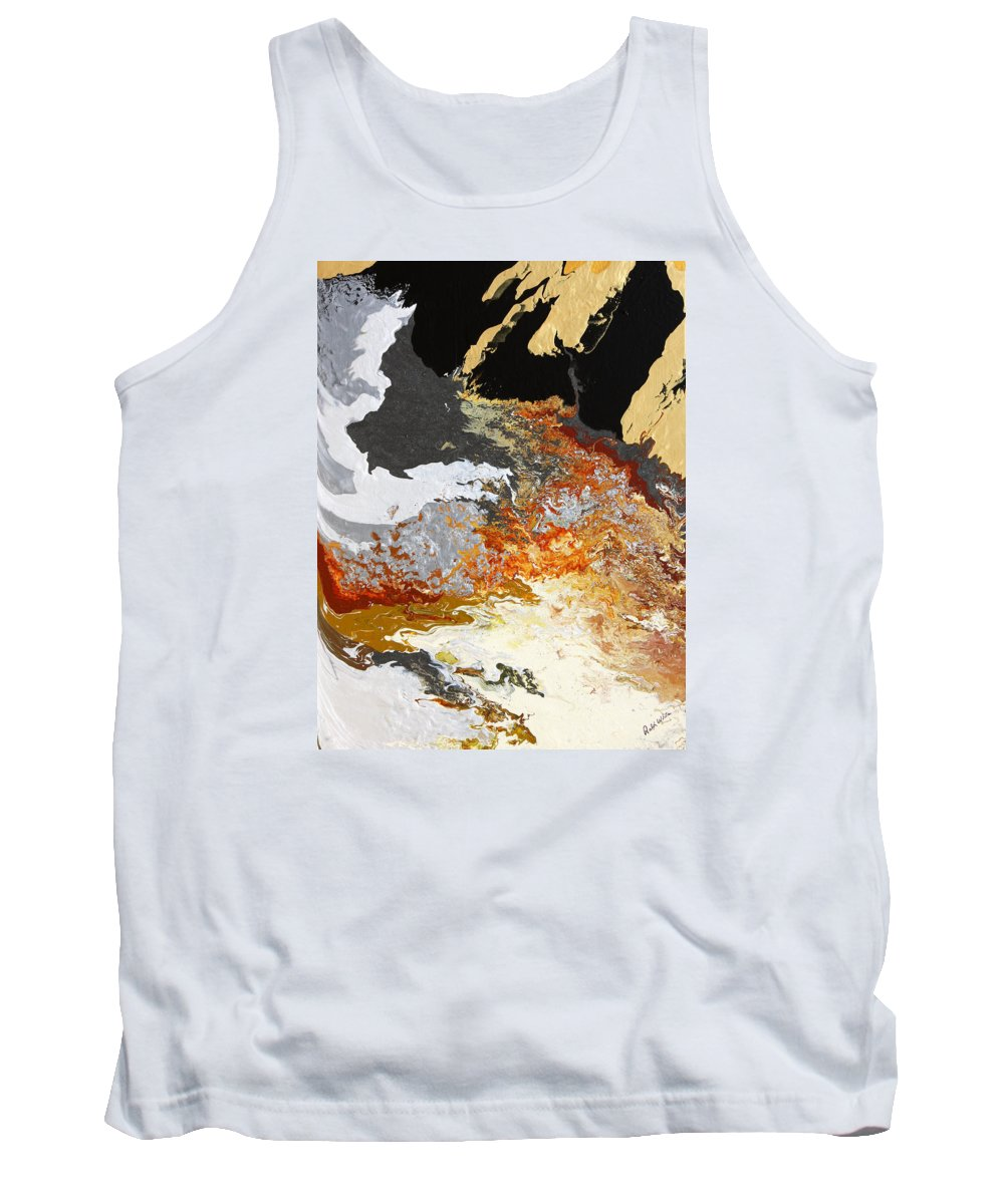 Fusionart Tank Top featuring the painting Fathom by Ralph White