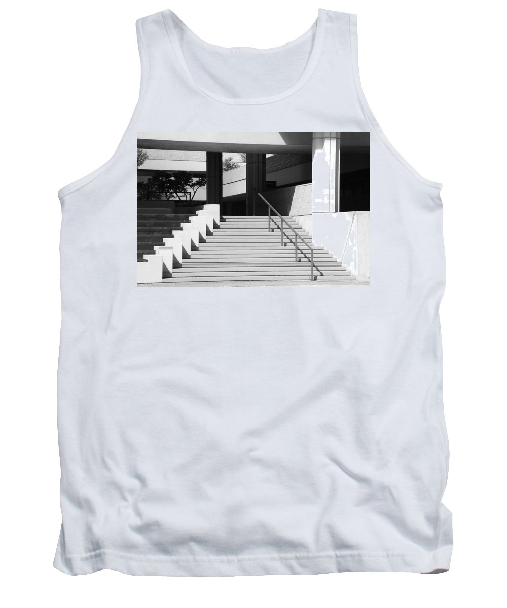 Architecture Tank Top featuring the photograph Federal Stairs by Rob Hans
