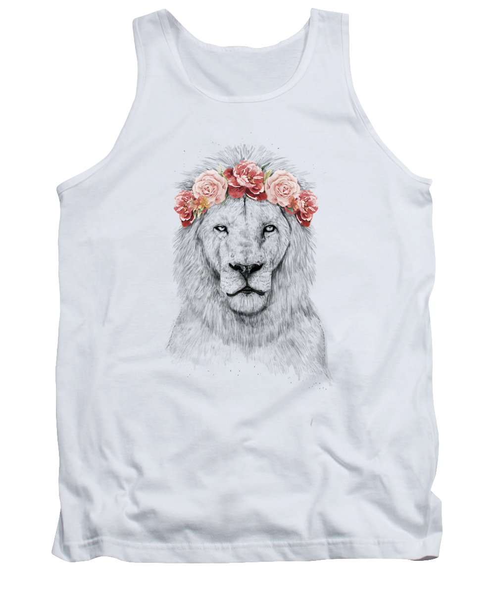 Spring Drawings Tank Tops
