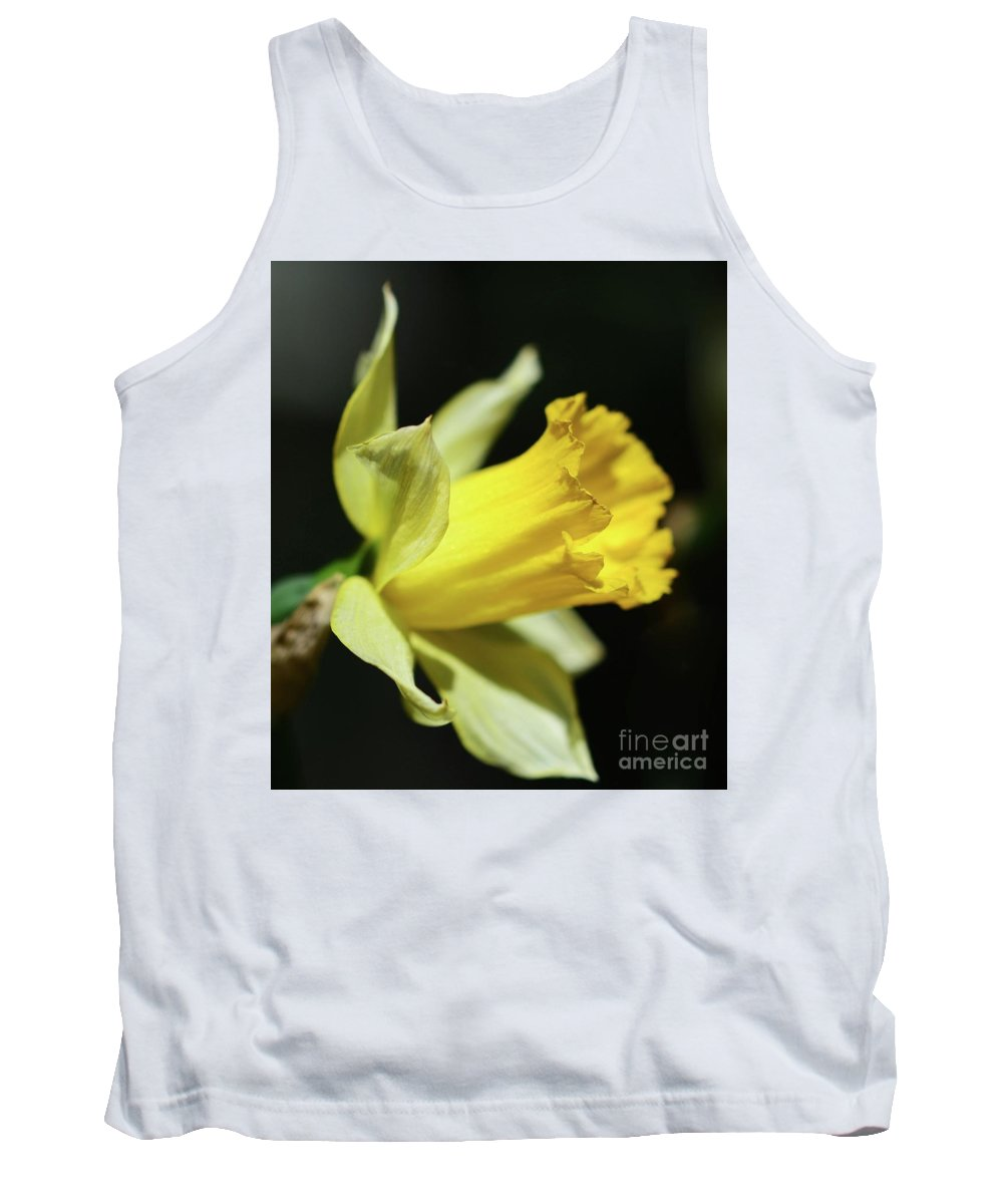 Flowers Tank Top featuring the photograph First Sign Of Spring by Cindy Manero