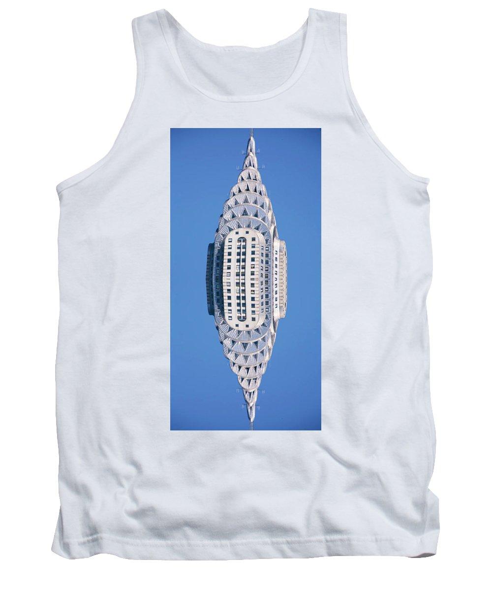 Manhattan Skyline Tank Top featuring the photograph Float by Tony Rubino