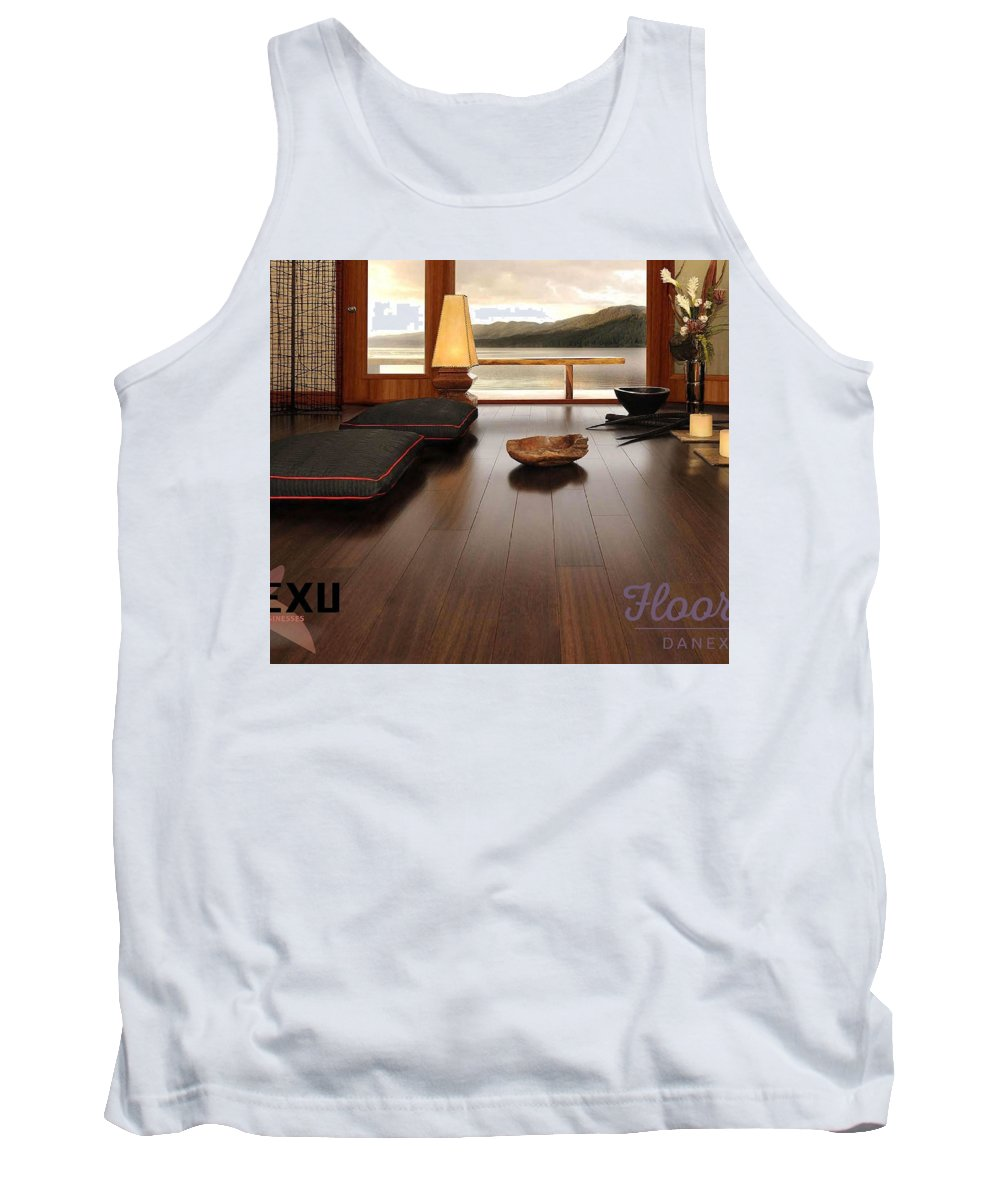 Tank Top featuring the photograph Flooring Dealers by Danexu