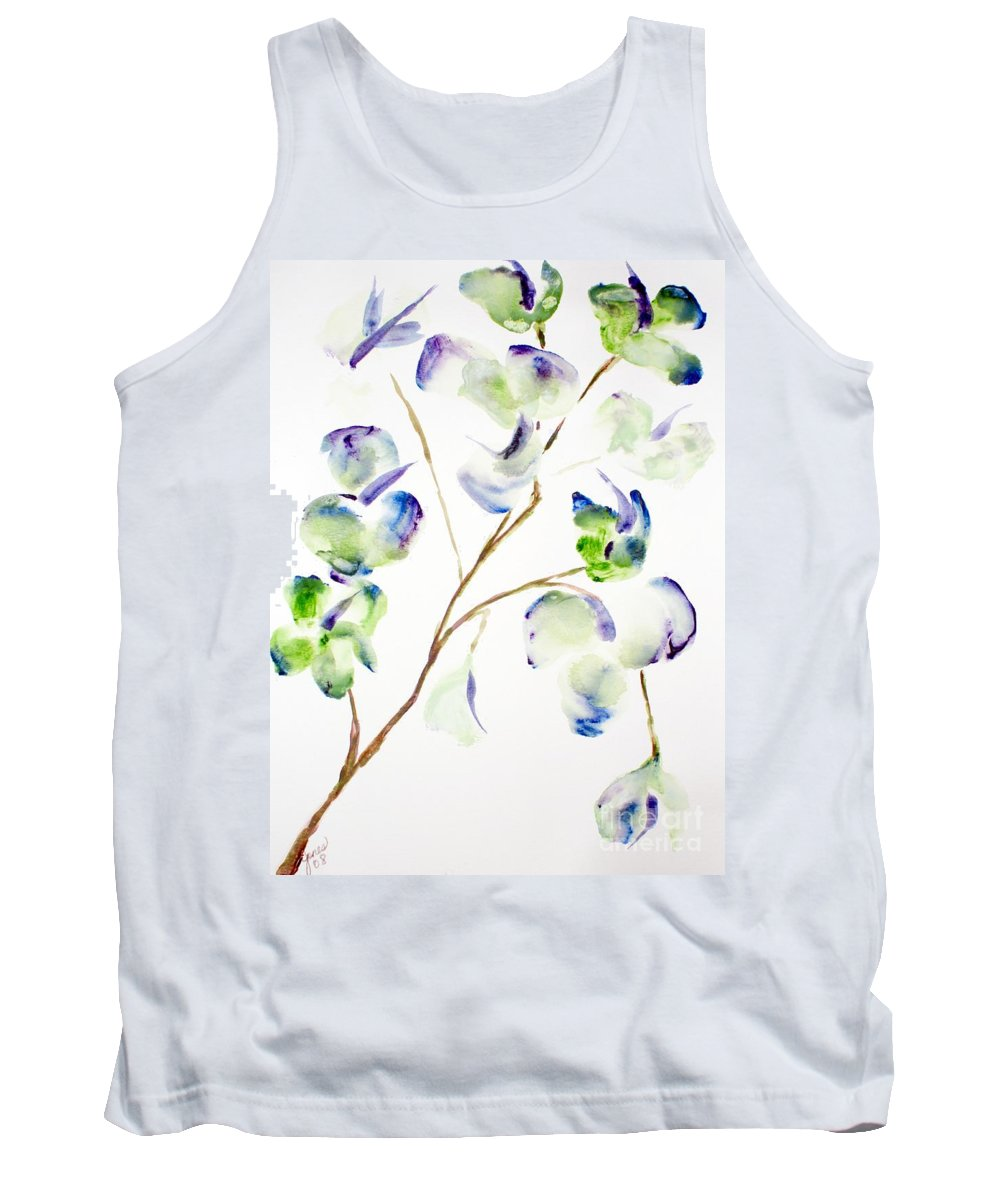 Flower Tank Top featuring the painting Flower by Shelley Jones