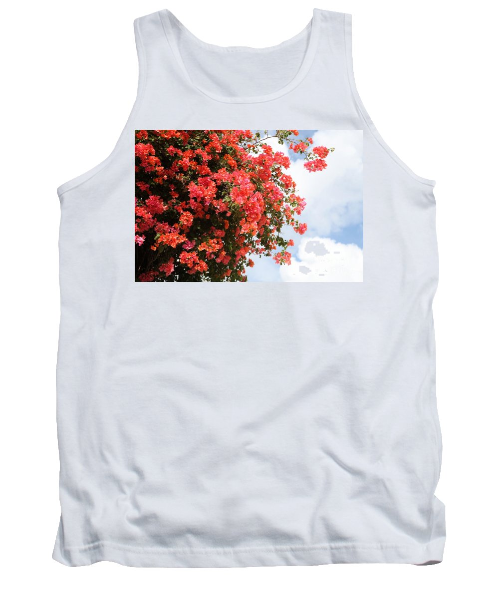 Hawaii Tank Top featuring the photograph Flowering Tree by Nadine Rippelmeyer