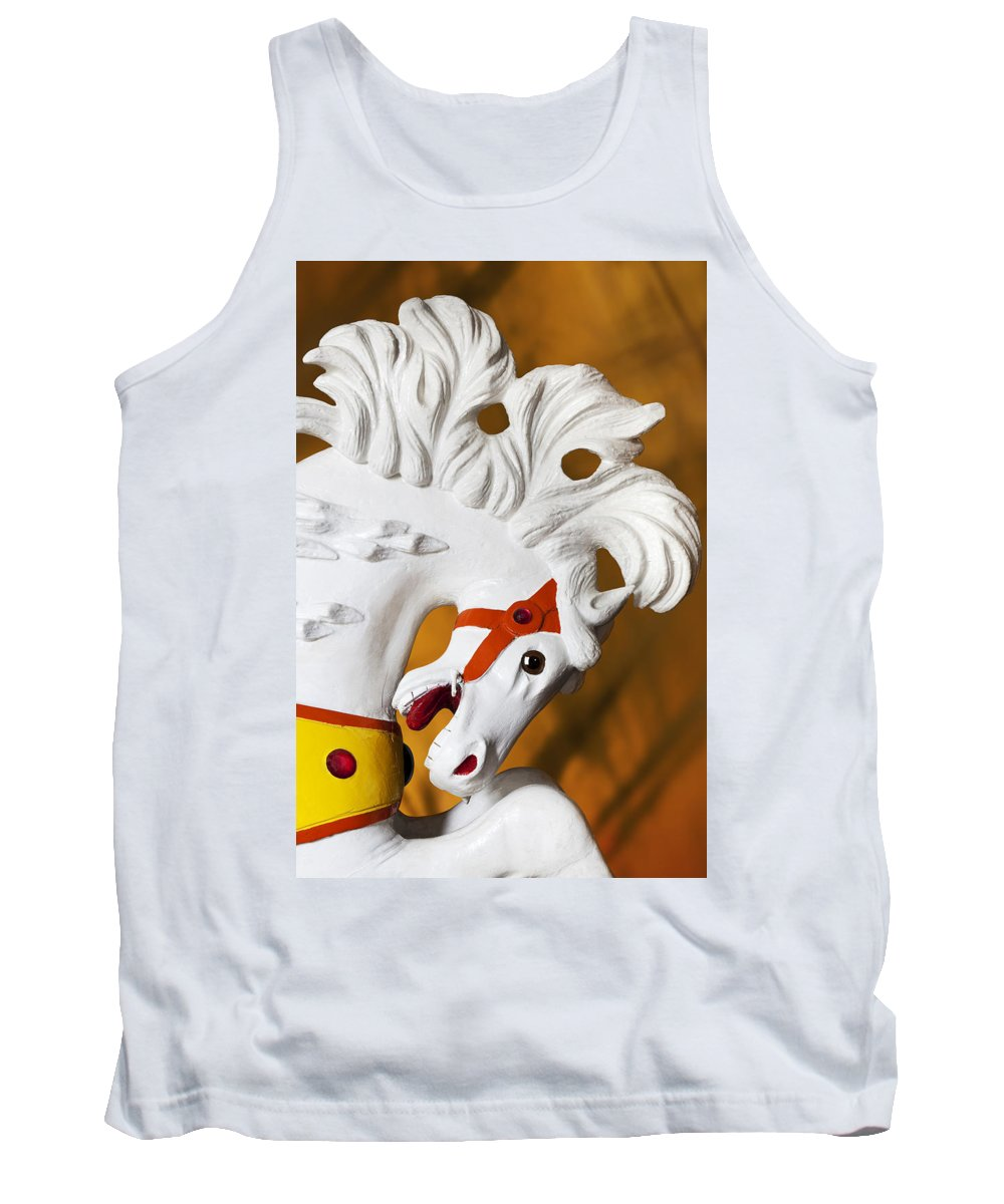 Carousel Tank Top featuring the photograph Flowing Mane 1 by Kelley King