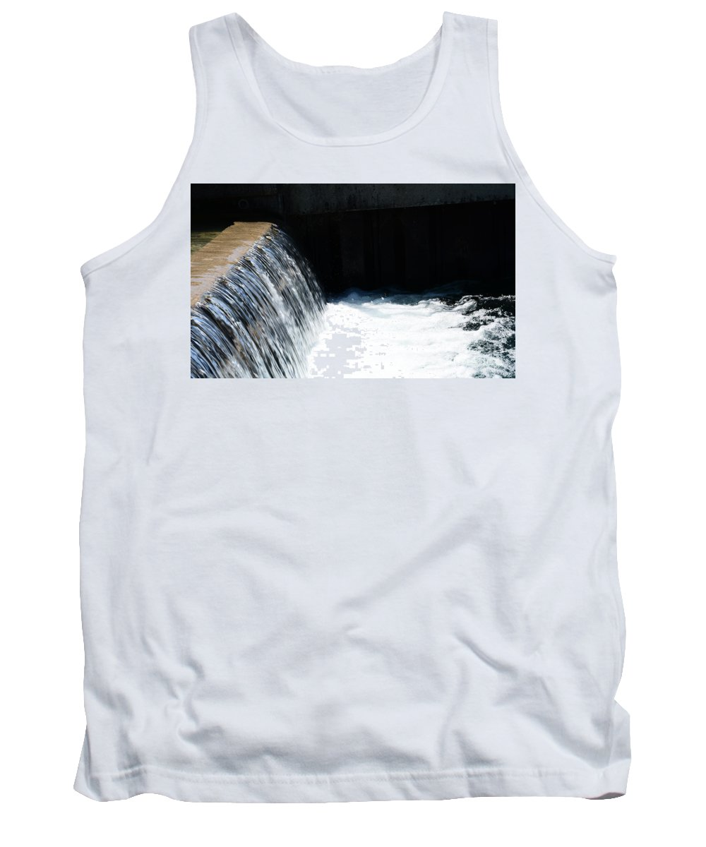 Life Tank Top featuring the photograph Flowing Water Of Life by Reva Steenbergen