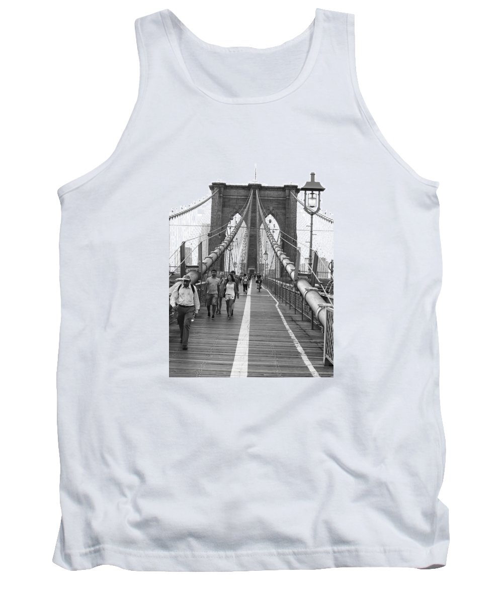 Brooklyn Tank Top featuring the photograph Follow The Line by Alex Antoine