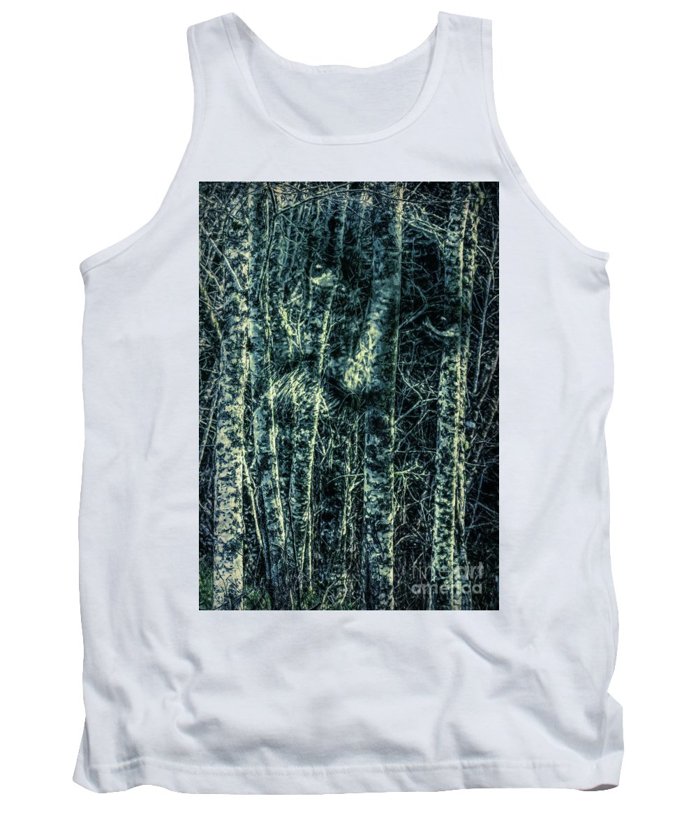 Forest Tank Top featuring the photograph Forest Spirit by Jean OKeeffe Macro Abundance Art