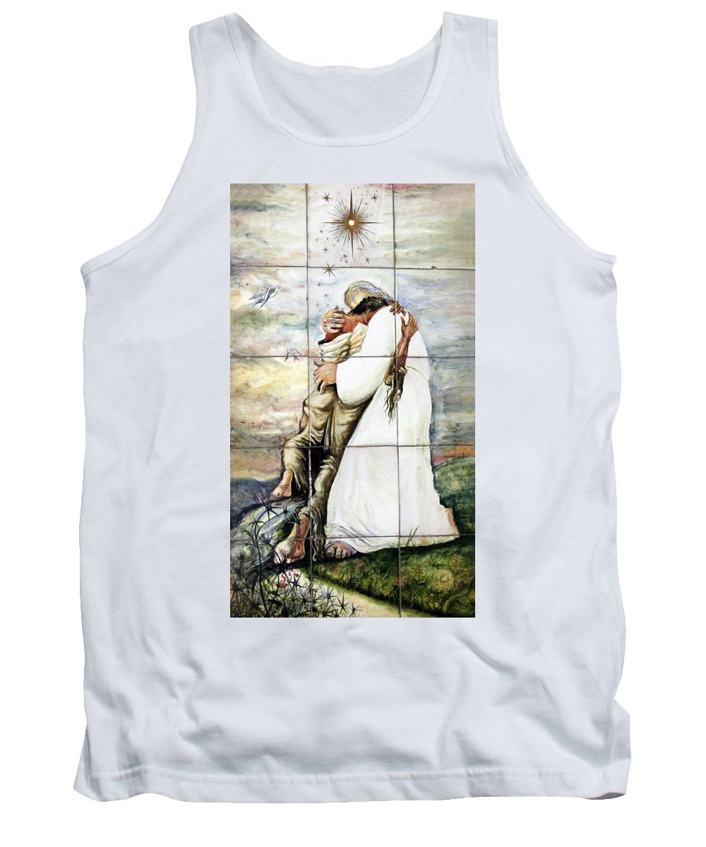 Fogive Tank Top featuring the photograph Forgiven by Munir Alawi
