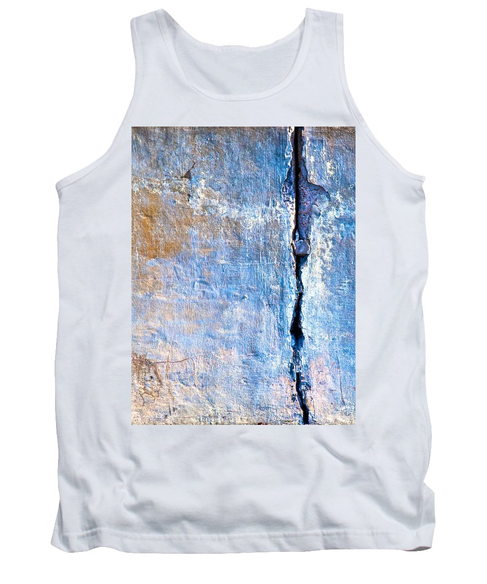 Industrial Tank Top featuring the photograph Foundation Five by Bob Orsillo