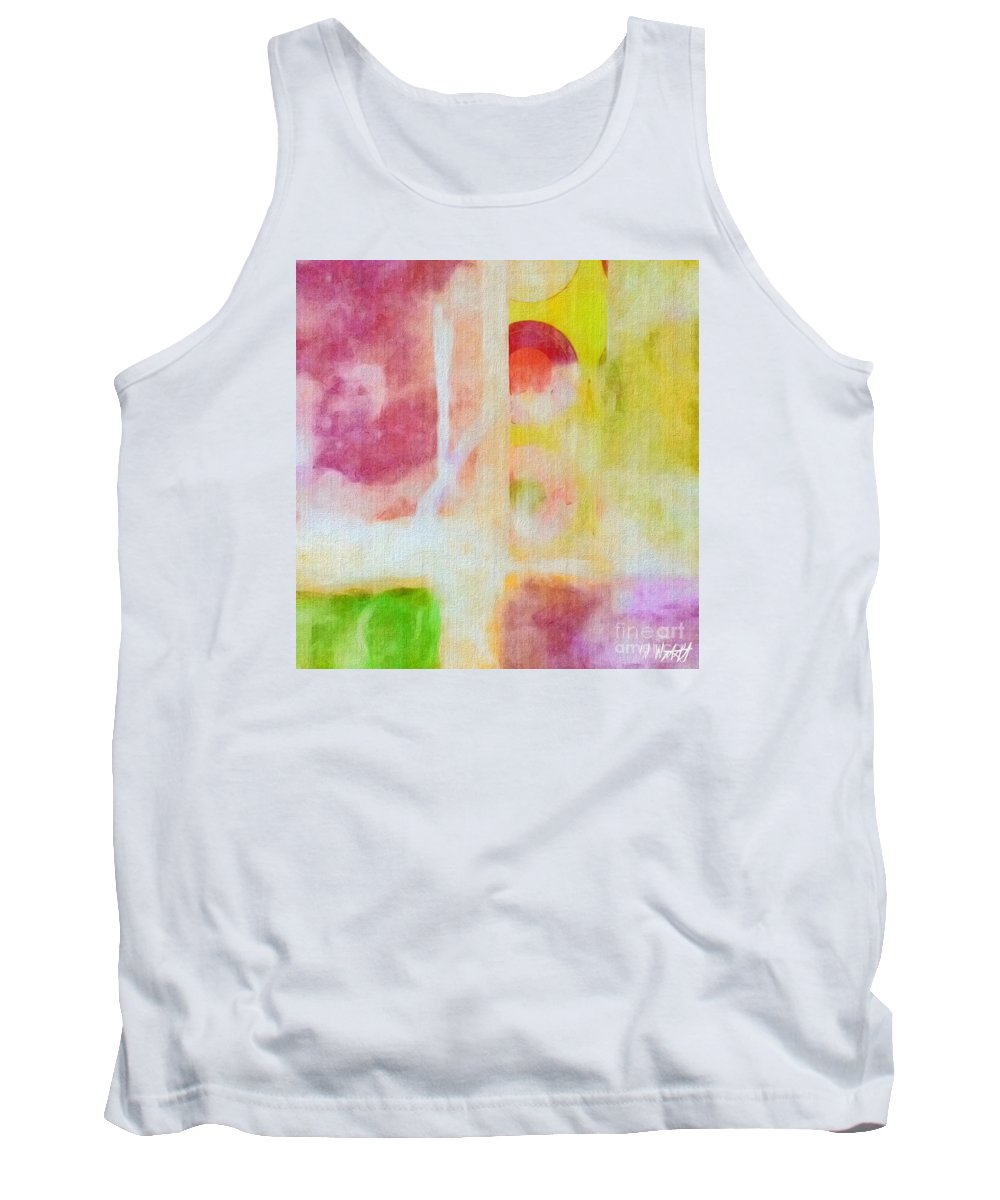 Acrylic Abstract Tank Top featuring the photograph Four Corners by William Wyckoff