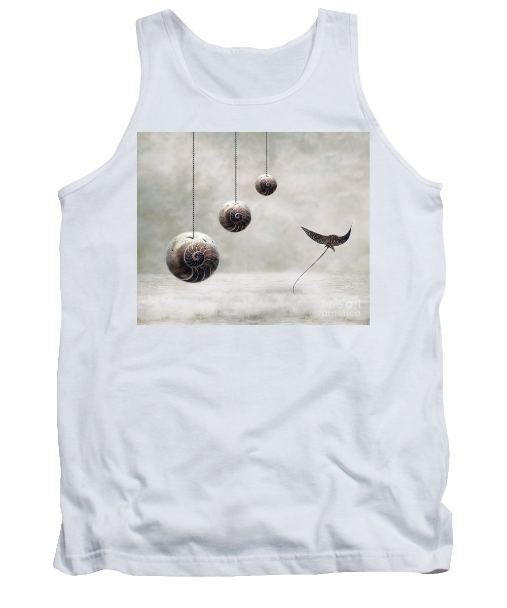 Surrealism Tank Top featuring the photograph Free by Jacky Gerritsen