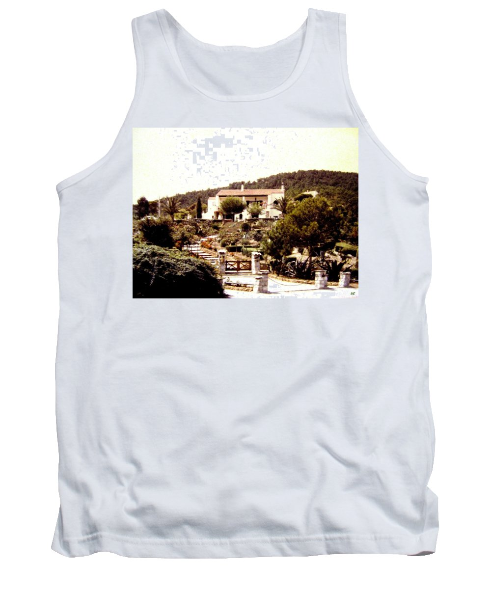 1955 Tank Top featuring the photograph French Riviera 1955 by Will Borden