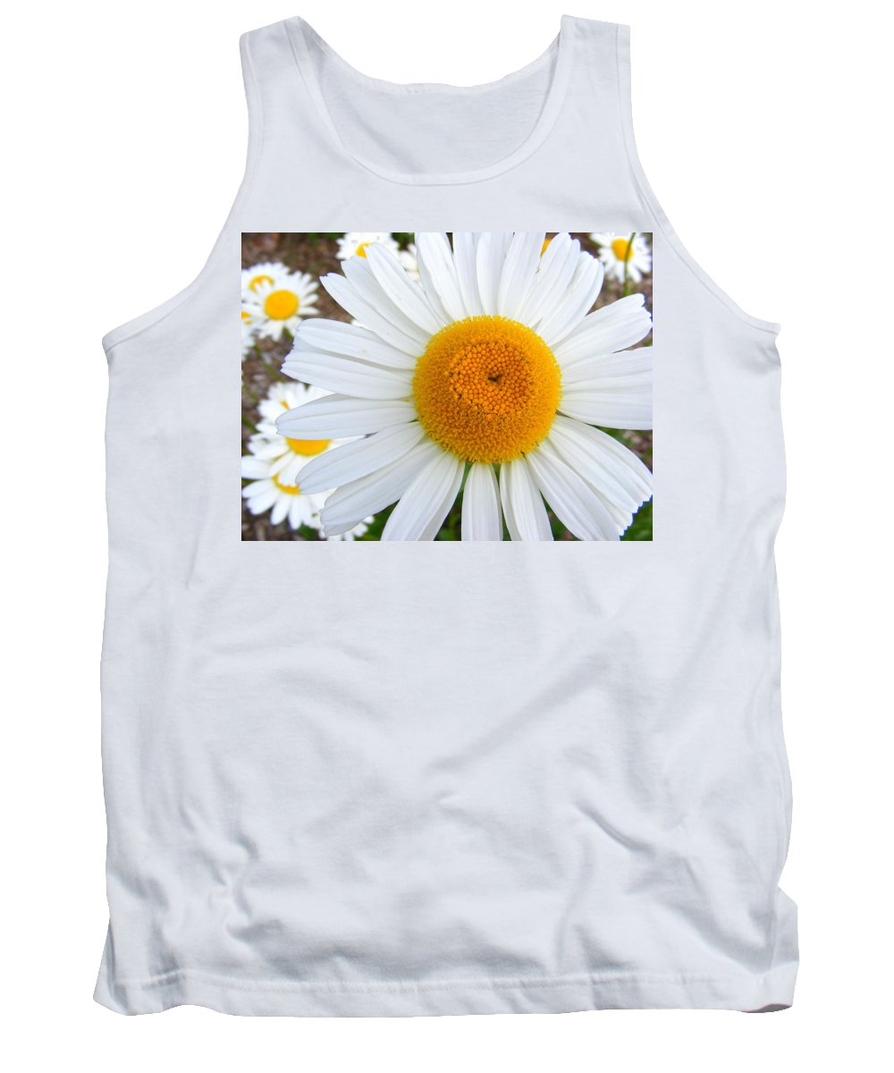 Flower Tank Top featuring the photograph Fried Eggs by Ed Smith