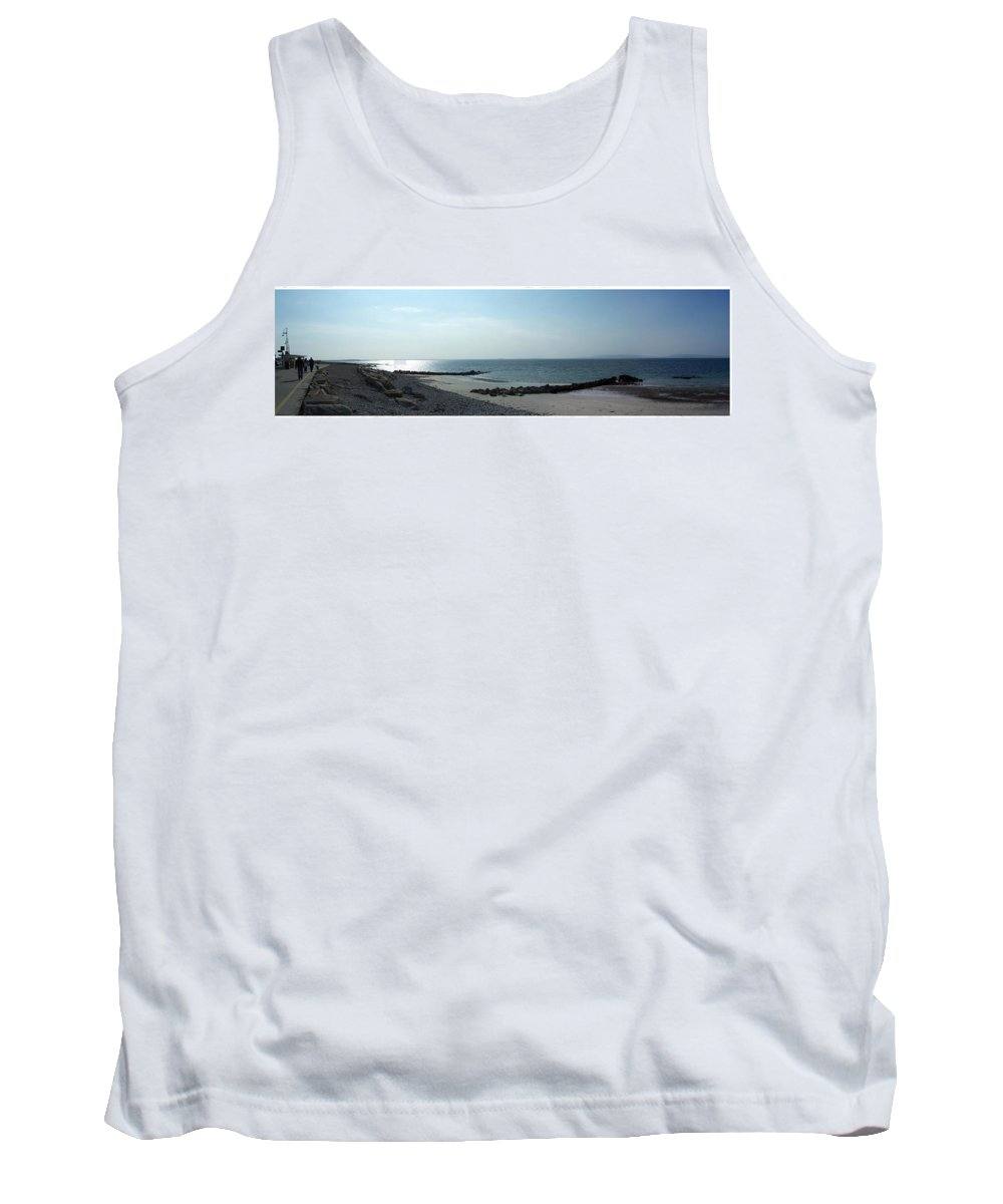 Irish Tank Top featuring the photograph Galway Bay At Salt Hill Park Galway Ireland by Teresa Mucha