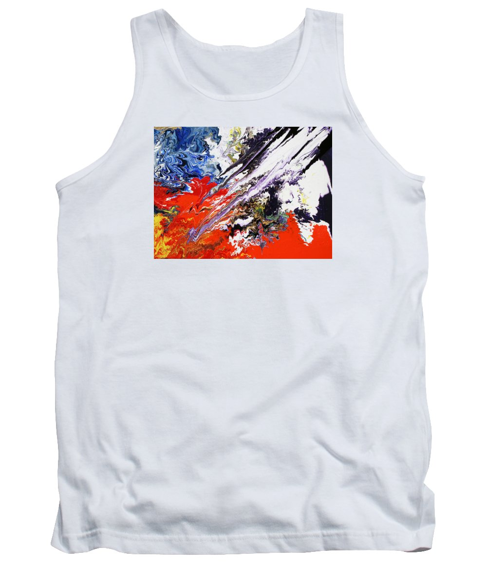 Fusionart Tank Top featuring the painting Genesis by Ralph White