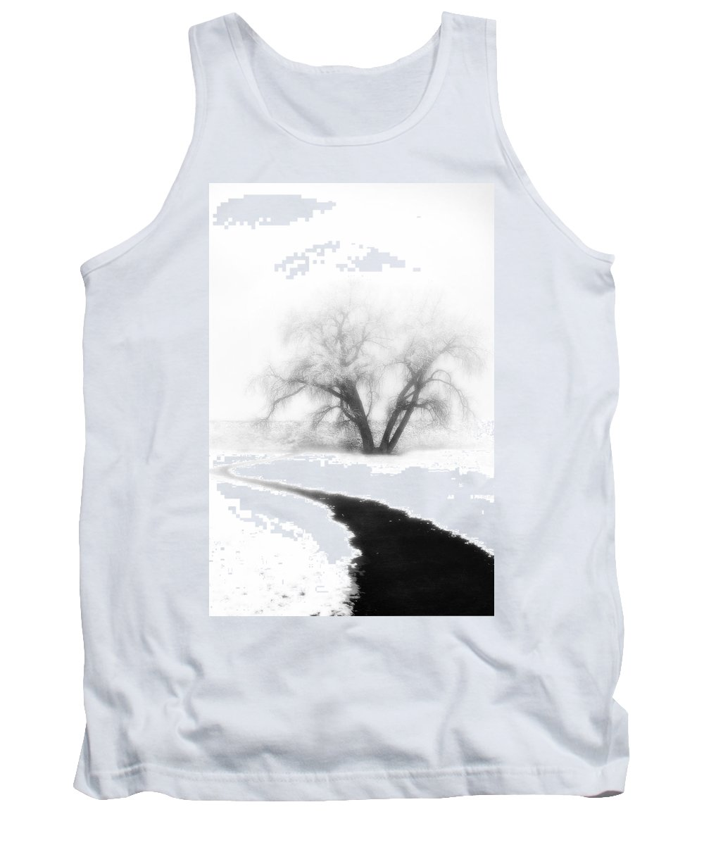 Tree Tank Top featuring the photograph Getting There by Marilyn Hunt