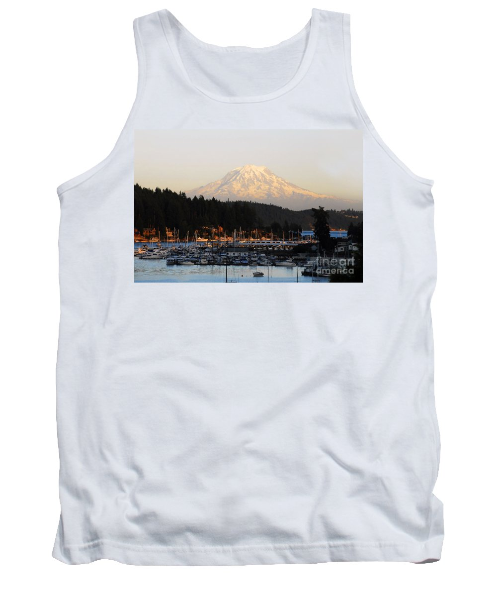Gig Harbor Washington Tank Top featuring the photograph Gig Harbor by David Lee Thompson