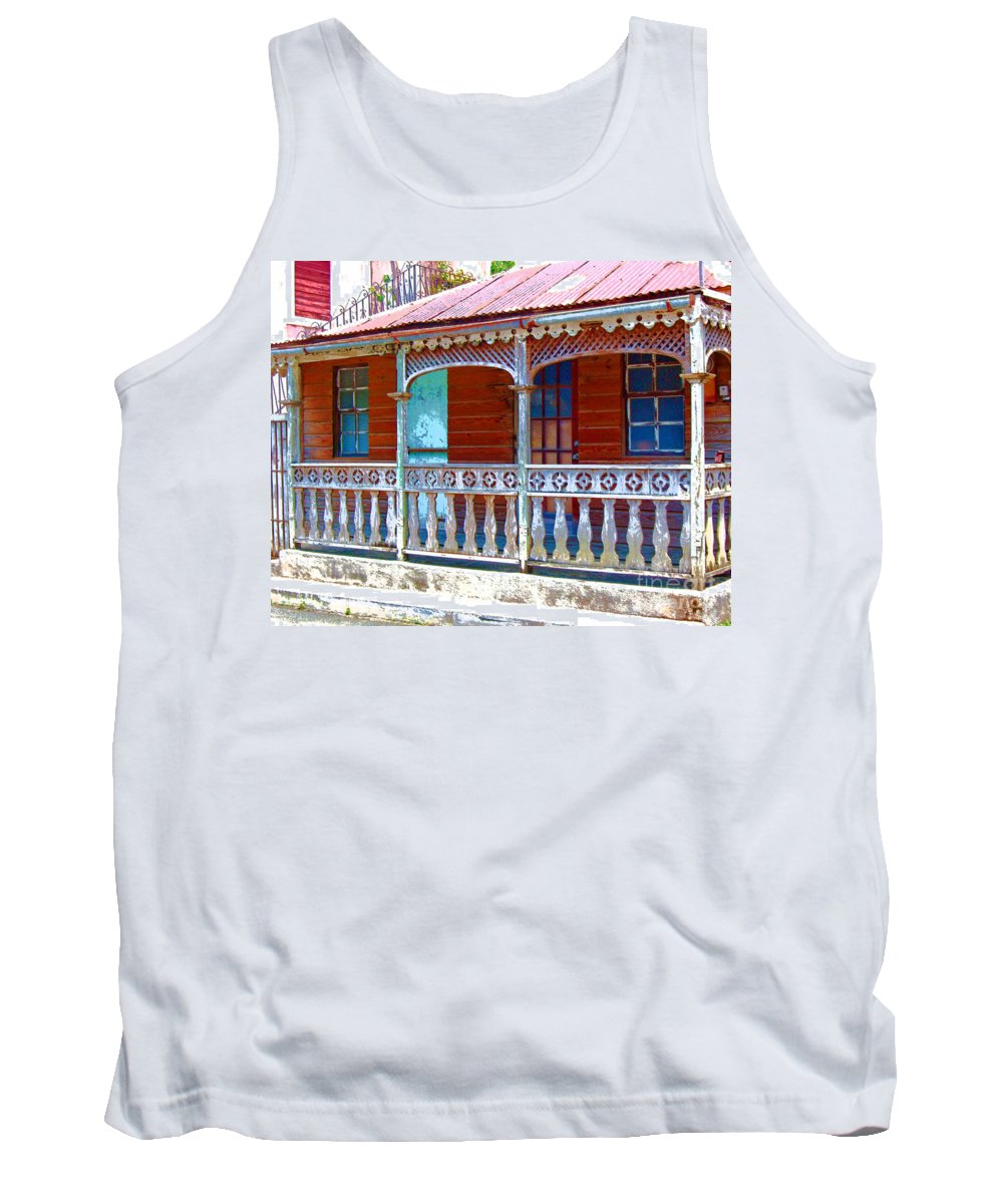 House Tank Top featuring the photograph Gingerbread House by Debbi Granruth
