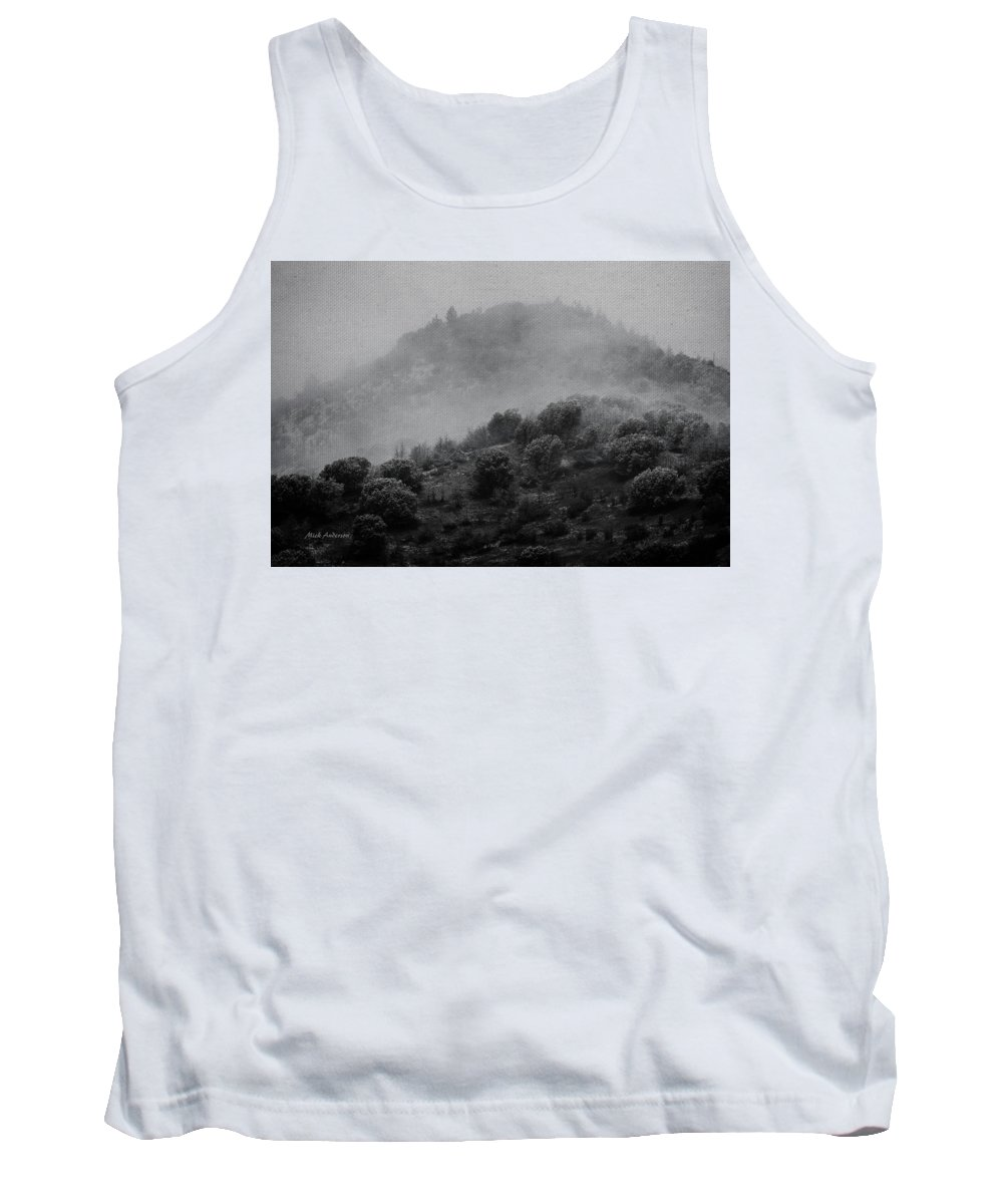 Photo Art Tank Top featuring the photograph Gold Hill Winter Scene by Mick Anderson