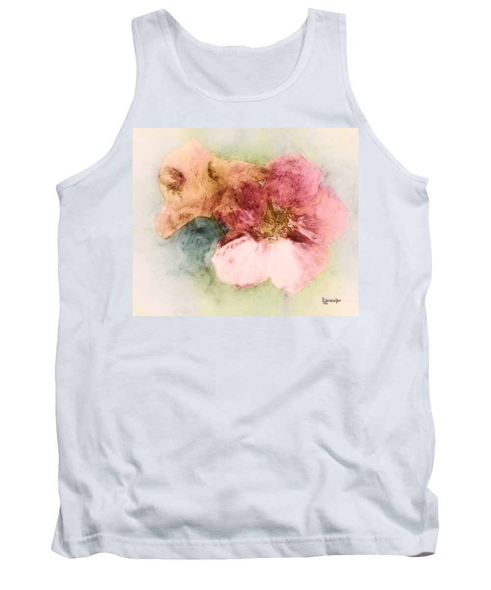 Flowers Tank Top featuring the digital art Gone Native by RC DeWinter