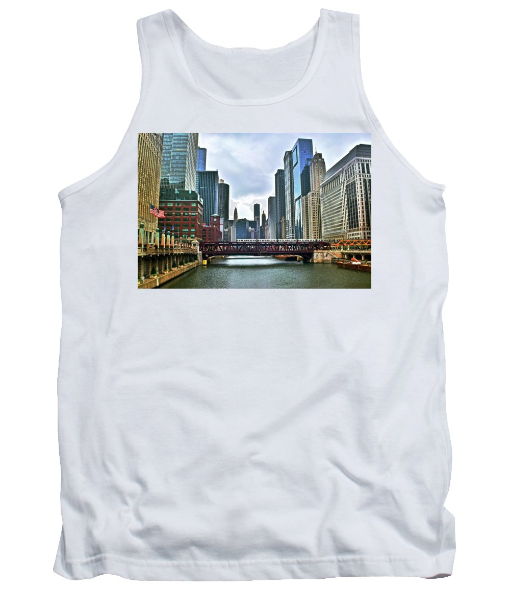 Chicago Tank Top featuring the photograph Good Old Chicago by Frozen in Time Fine Art Photography