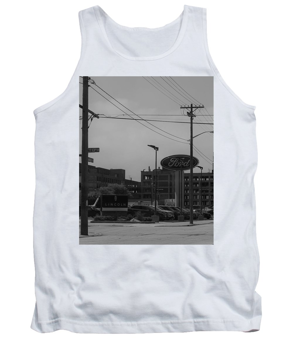 Tank Top featuring the photograph Goodbye Mirro 2 by John Bichler