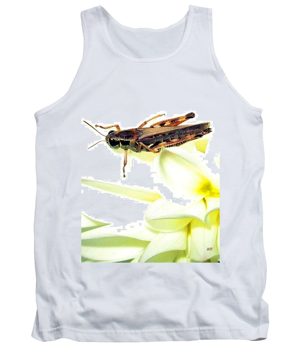 Grasshopper Tank Top featuring the photograph Grasshopper by Will Borden
