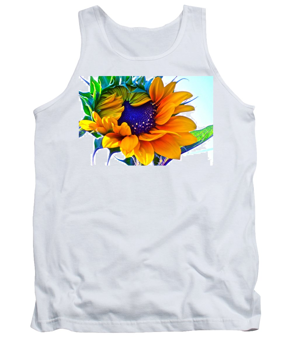 Photographs Tank Top featuring the photograph Half-awake by Gwyn Newcombe
