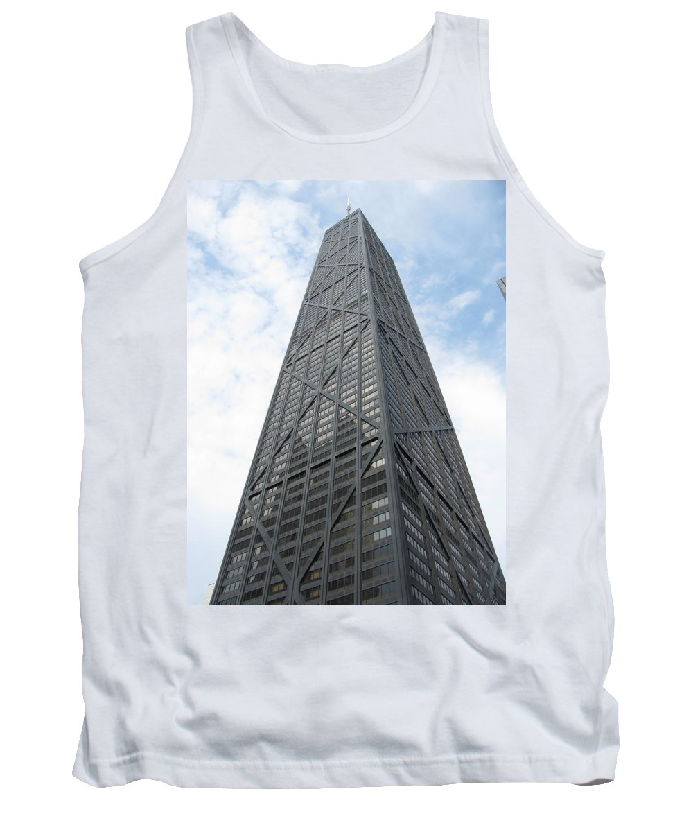 Chicago Tank Top featuring the photograph Hancock Building by Brittany Horton